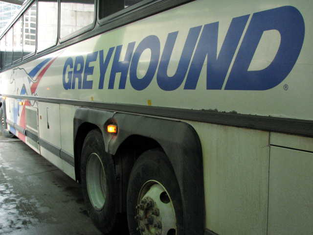 Traveling By Greyhound Bus